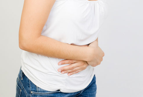 abdominal pain in women