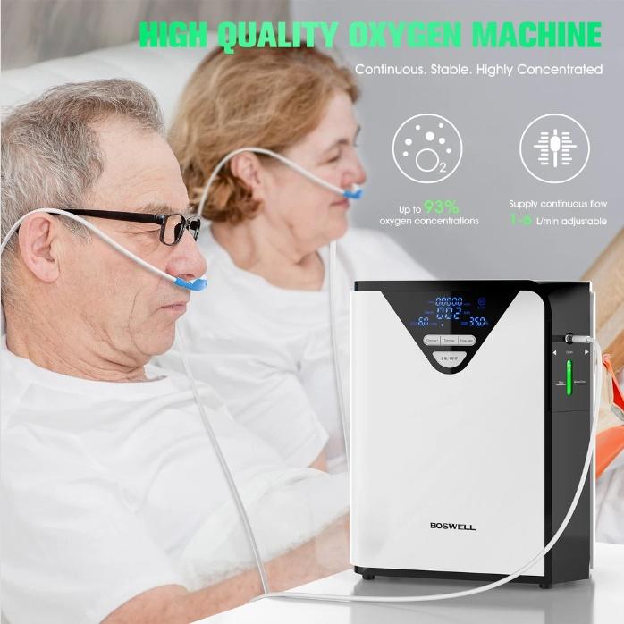 Boswell oxygen machine